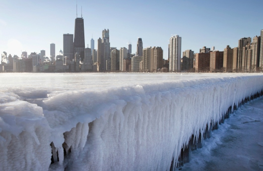 <> on January 7, 2015 in Chicago, Illinois.