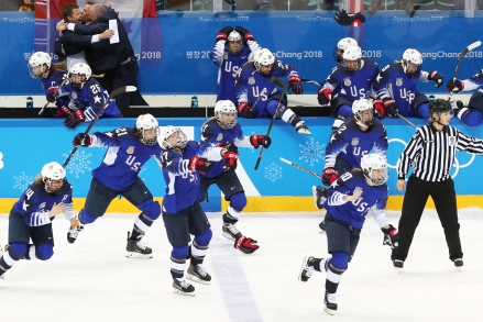 PyeongChang 2018 Olympics: women's ice hockey final, Canada 2 - 3 USA
